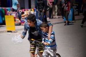 Essaouira children